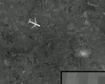 """俄媒曝马航mh17被战机击落卫星照片:""""客机被击落"""""""