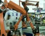机器人、电跑车:电机博览会高科技展品超吸睛
