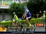 单车天使抵达莆田 首次体验寺庙住宿