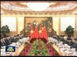 习近平同越共中央总书记举行会谈