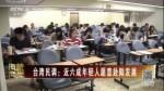 台湾民调:近六成年轻人愿意赴陆发展