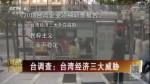 台调查:台湾经济三大威胁