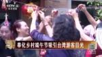 奉化乡村端午节吸引台湾游客目光
